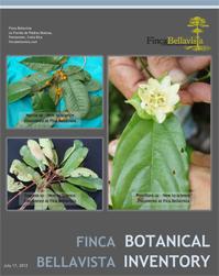 Finca Bellavista botanical inventory