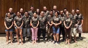 Finca Bellavista treehouse community team photo 2016