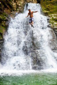 WATERFALL JUMP by James Lozeau