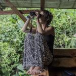 birdwatching at Finca Bellavista
